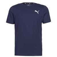 Υφασμάτινα Άνδρας T-shirt με κοντά μανίκια Puma ESS TEE Marine