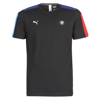 Υφασμάτινα Άνδρας T-shirt με κοντά μανίκια Puma BMW MMS T7 Tee Black