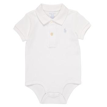 Υφασμάτινα Αγόρι Πιτζάμα/Νυχτικό Polo Ralph Lauren NOUVEL Άσπρο