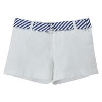 Υφασμάτινα Κορίτσι Σόρτς / Βερμούδες Polo Ralph Lauren FILLI Άσπρο