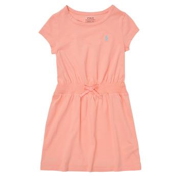 Υφασμάτινα Κορίτσι Κοντά Φορέματα Polo Ralph Lauren FROLLI Ροζ