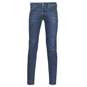 Υφασμάτινα Άνδρας Skinny jeans Diesel SLEENKER Μπλέ / Fonce