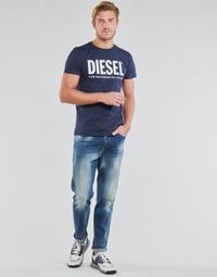 Υφασμάτινα Άνδρας Τζιν σε ίσια γραμμή Diesel D-FINNING Μπλέ / Medium