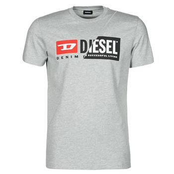 Υφασμάτινα Άνδρας T-shirt με κοντά μανίκια Diesel 00SDP1-0091A-912 Grey