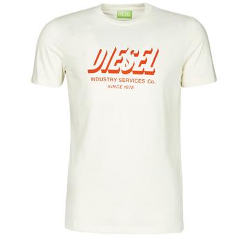 Υφασμάτινα Άνδρας T-shirt με κοντά μανίκια Diesel A01849-0GRAM-129 Άσπρο