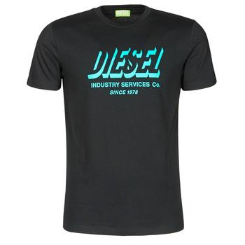 Υφασμάτινα Άνδρας T-shirt με κοντά μανίκια Diesel A01849-0GRAM-9XX Black