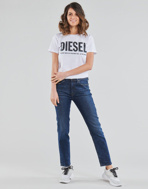 Υφασμάτινα Γυναίκα Τζιν σε ίσια γραμμή Diesel D-JOY Μπλέ / Medium