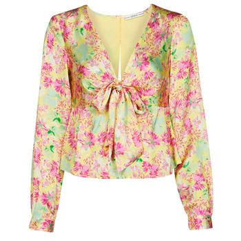 Υφασμάτινα Γυναίκα Μπλούζες Guess NEW LS GWEN TOP Multicolour