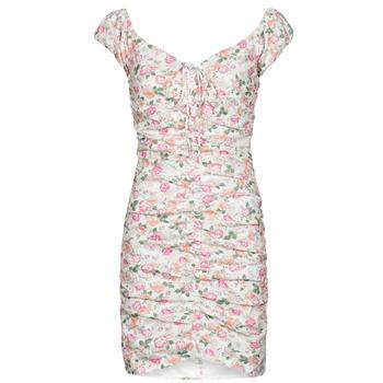 Υφασμάτινα Γυναίκα Κοντά Φορέματα Guess INGRID DRESS Ροζ /  clair