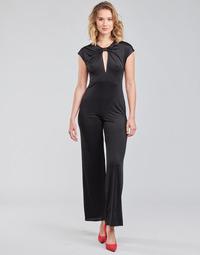 Υφασμάτινα Γυναίκα Ολόσωμες φόρμες / σαλοπέτες Guess ROSANNA JUMPSUIT Black