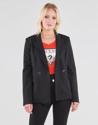 Υφασμάτινα Γυναίκα Σακάκι / Blazers Guess MICAELA BLAZER Black