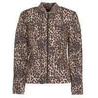 Υφασμάτινα Γυναίκα Μπουφάν Guess VERA JACKET Leopard