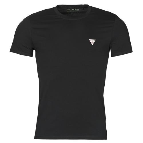 Υφασμάτινα Άνδρας T-shirt με κοντά μανίκια Guess CN SS CORE TEE Black