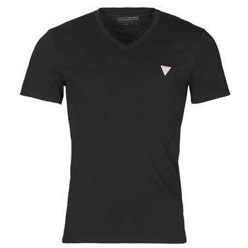Υφασμάτινα Άνδρας T-shirt με κοντά μανίκια Guess VN SS CORE TEE Black