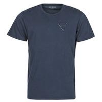 Υφασμάτινα Άνδρας T-shirt με κοντά μανίκια Guess LOGO ORGANIC BASIC CN SS TEE Marine