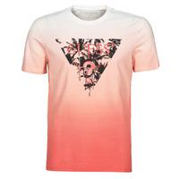 Υφασμάτινα Άνδρας T-shirt με κοντά μανίκια Guess PALM BEACH CN SS TEE Red