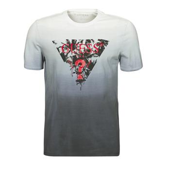 Υφασμάτινα Άνδρας T-shirt με κοντά μανίκια Guess PALM BEACH CN SS TEE Black