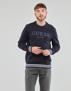 Υφασμάτινα Άνδρας Φούτερ Guess BEAU CN FLEECE Black