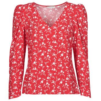 Υφασμάτινα Γυναίκα Μπλούζες Naf Naf COLINE C1 Red