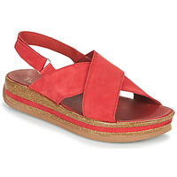 Παπούτσια Γυναίκα Σανδάλια / Πέδιλα Think ZEGA Red