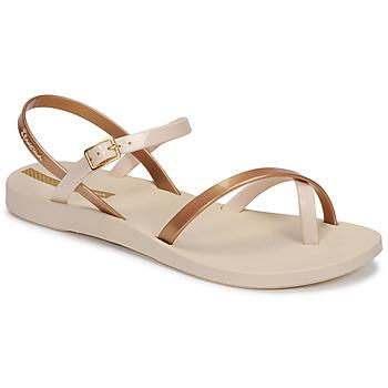 Παπούτσια Γυναίκα Σανδάλια / Πέδιλα Ipanema Ipanema Fashion Sandal VIII Fem Beige / Gold