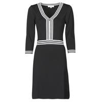 Υφασμάτινα Γυναίκα Κοντά Φορέματα Morgan RMFATA Black / Άσπρο