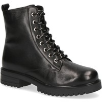 Παπούτσια Γυναίκα Μποτίνια Caprice Booties Low Heels Black Black