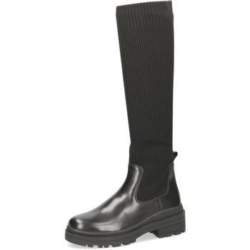 Παπούτσια Γυναίκα Μπότες για την πόλη Caprice Boots Low Heels Black Black