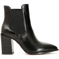 Παπούτσια Γυναίκα Μποτίνια Café Noir LB223 Μαύρος