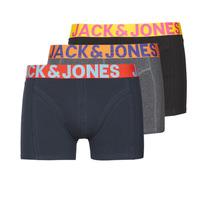Εσώρουχα Άνδρας Boxer Jack & Jones JACCRAZY X3 Black / Μπλέ / Grey