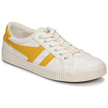 Παπούτσια Γυναίκα Χαμηλά Sneakers Gola TENNIS MARK COX Beige / Yellow