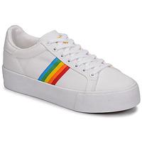 Παπούτσια Γυναίκα Χαμηλά Sneakers Gola ORCHID PLATEFORM RAINBOW Άσπρο / Multi