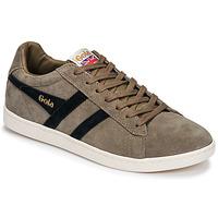 Παπούτσια Άνδρας Χαμηλά Sneakers Gola EQUIPE SUEDE Beige / Marine