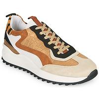 Παπούτσια Γυναίκα Χαμηλά Sneakers Ikks BS80205 Άσπρο / Beige