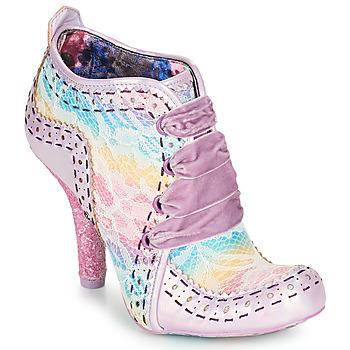 Παπούτσια Γυναίκα Χαμηλές Μπότες Irregular Choice ABIGAIL'S THIRD PARTY Ροζ / Violet