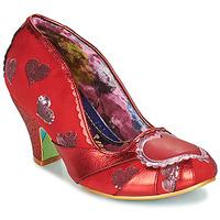 Παπούτσια Γυναίκα Γόβες Irregular Choice HEART ON YOUR SLEEVE Red