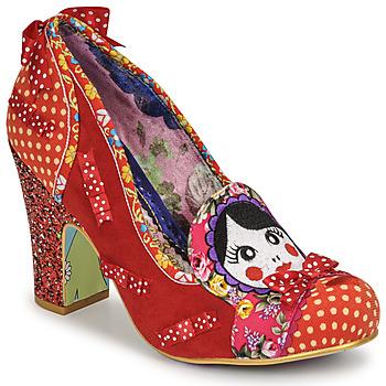 Παπούτσια Γυναίκα Γόβες Irregular Choice MATRYOSHKA MEMORIES Red