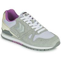 Παπούτσια Γυναίκα Χαμηλά Sneakers Hummel MARATHONA SUEDE Grey / Violet