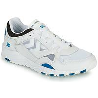 Παπούτσια Άνδρας Χαμηλά Sneakers Hummel EDMONTON 3S LEATHER Μπλέ