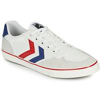 Παπούτσια Άνδρας Χαμηλά Sneakers Hummel STADIL LOW OGC 3.0 Άσπρο / Μπλέ / Red