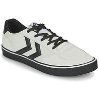 Παπούτσια Άνδρας Χαμηλά Sneakers Hummel STADIL 3.0 SUEDE Beige / Black
