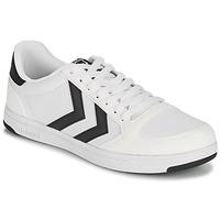 Παπούτσια Άνδρας Χαμηλά Sneakers Hummel STADIL LIGHT CANVAS Άσπρο
