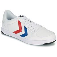 Παπούτσια Άνδρας Χαμηλά Sneakers Hummel STADIL LIGHT Άσπρο / Μπλέ / Red