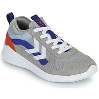 Παπούτσια Παιδί Χαμηλά Sneakers Hummel BOUNCE JR Grey / Μπλέ