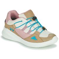 Παπούτσια Παιδί Χαμηλά Sneakers Hummel BOUNCE RUNNER TEX JR Beige / Ροζ