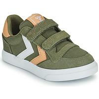 Παπούτσια Παιδί Χαμηλά Sneakers Hummel STADIL LOW JR Green