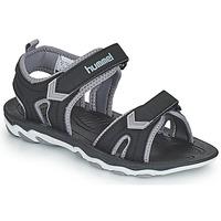 Παπούτσια Παιδί Σπορ σανδάλια Hummel SANDAL SPORT JR Black