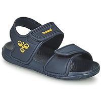 Παπούτσια Παιδί Σπορ σανδάλια Hummel PLAYA JR Μπλέ