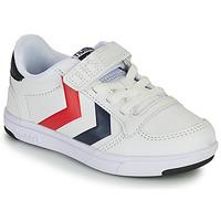 Παπούτσια Παιδί Χαμηλά Sneakers Hummel STADIL LIGHT QUICK JR Άσπρο