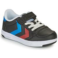 Παπούτσια Παιδί Χαμηλά Sneakers Hummel STADIL LIGHT QUICK JR Black
